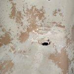 ванна до реставрации ржавчина