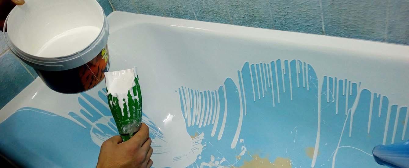 Як оновити чавунну ванну?